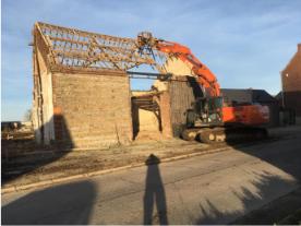 demolition tournai