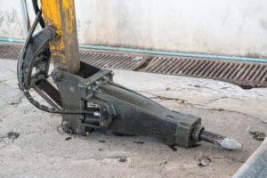 brise roche marteau piqueur demolition entreprise tournai nivelles mouscron