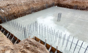 fondation maison batiment creuser tractopelle tournai hainaut belgique